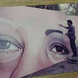 Wall art painting/ mural artist