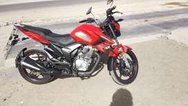 Power motorcycle in a good condition
