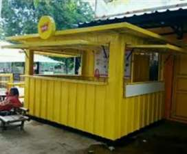 Container Stand / Booth solusi usaha anda