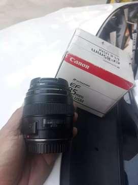 Lensa canon 85mm f 1.8