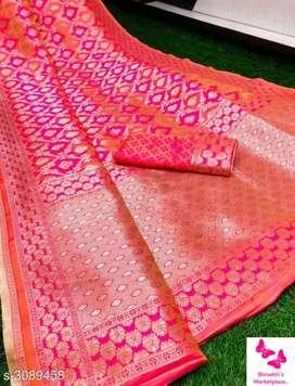 *Ravishing Silk Women's Saree*                             *Rs.1750/-*