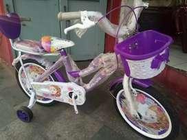 Sepedah anak merk butterfly size 16