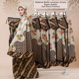 Mukena Batik Rayon