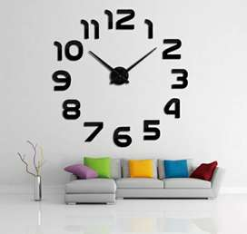 3D Wall Clock Big Size