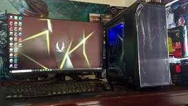 Comp. Desain Intel i7 RX 570 Adobe,Lumion Bisa kredit
