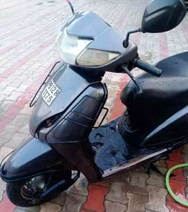 Activa in good condition and has good mileage