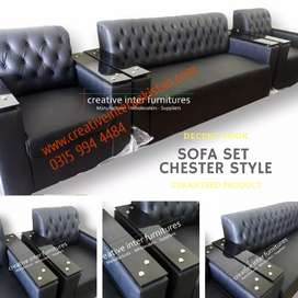 Sofa Set 5 Seater megasale Chair bed Dining Office Table wardrobe