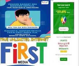 FIRSTMEDIA PAKET TERLENGKAP INTERNET WIFI