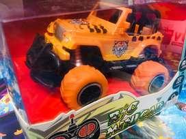 Mainan anak baru rc jeep orange edisi