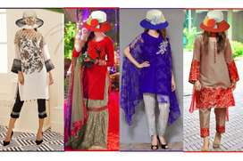 Latest 2020 designs Embroidery Suit wholesale price pr ml jy gy