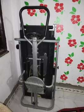 Treadmill with twister and stepper 3 in 1