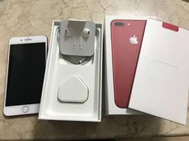 I phone 7 plus (256 Red ) with bill, box all accessories are available