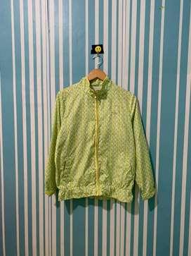 Fila Windbreaker Jaket Parasut jaket olahraga jaket sepeda thrift