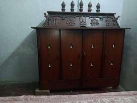 Used Teak wood Pooja Mandir, Custom Made