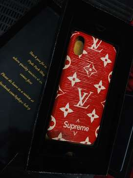 Iphone x supreme case.