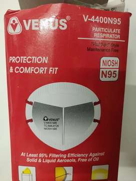 For SALE : Rs 30 VENUS N95 ORIGINAL MASK MODEL 4400 Rs 30/Piece