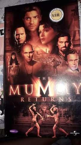 Vcd original barat the mummy retirns