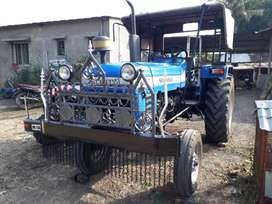 Tractor with trolly