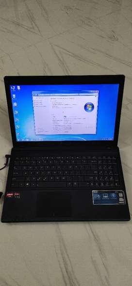 Asus x55u AMD C-70 APU 4gb ram 500gb HDD DVD-RW 15.6