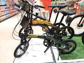 sepeda lipat pclacific bisa kredit tanpa dp