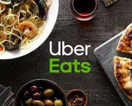 wanted part time job seekers for ubereats food deliveey
