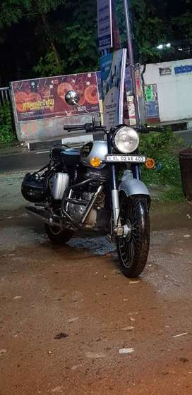 Royal enfield  classic 350 silver
