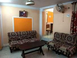 Furnished 2 BHK Flat on Ground floor at Sisamau Bazar main road