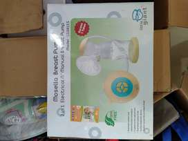 Mosella Breast Pump 2 in 1 Electrical n Manual