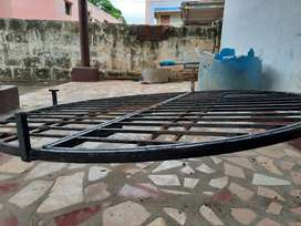 Selling iron grill for water well