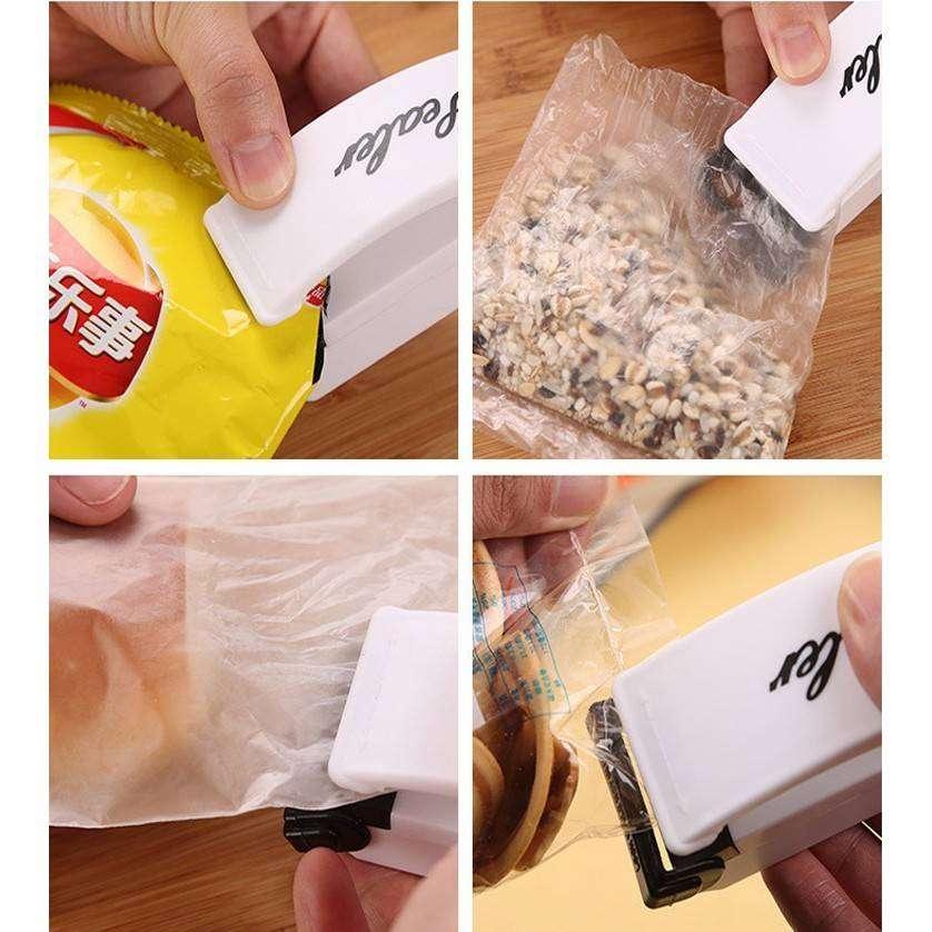 Hand Sealer Mini Alat Press Plastik Tangan Super Portable Perekat & P