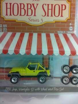 Diecast hobby shop wrangler yj 1990 whell&tire minat sms wa diprofile