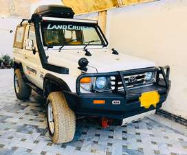 Toyta Land cruiser Rkr soft Top Army Auction for Sale