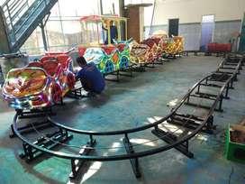 4 gerbong odong kereta lantai ND mini coaster full fiber