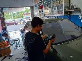 Kaca film gedung dan kaca film mobil tersedia