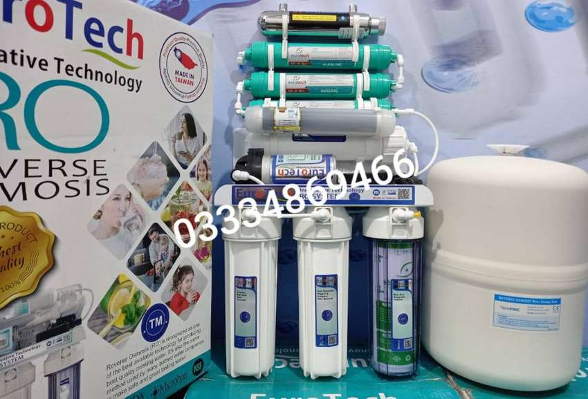9-Stage Eurotech Best Taiwan Ro plant,100GPD water filter water filter