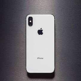 iphone x 64gb silver color face id not working