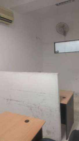 Fully-furnished  450 sqft office space on 4th floor on lease