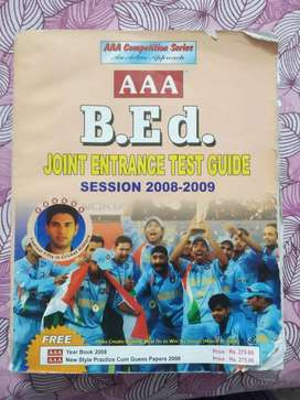 b.ed. joint entrance test guide