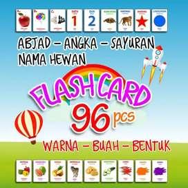 Flash card isi 96 pcs