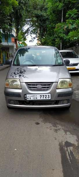 Hyundai Santro Xing (top model) with life time tax