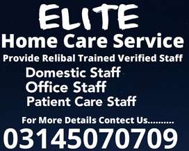 ELITE) Provide Patient Care, Nurse, Cook, Driver, Maid, Couple, Helper