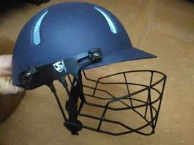 SG Aeroshield medium cricket helmet