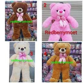 boneka teddy bear 1.2 meter beruang super jumbo tedy super besar ID36