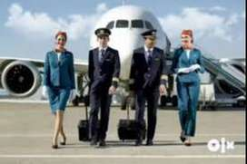We are Hiring for Ground Staff/Cabin Crew in Coimbatore Airport,