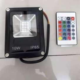 Lampu Sorot / Tembak RGB Warna Warni 10 Watt / 10 W / 10W ID93