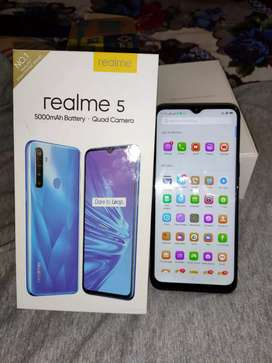 real me 5 with Android version 9