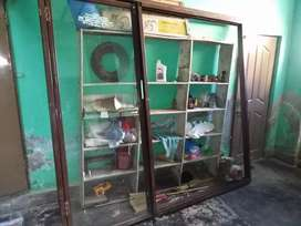 Glass door for shop in 9.5 condition.