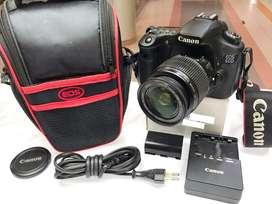 Kamera dslr canon 60d plus lensa kit mulus mantap murah plus bonus