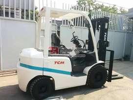 Forklift TCM Japan Mesin 2.5 Ton Kapasitas Bekas Solar 3000 mm