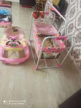 Jhoola & walker for kids